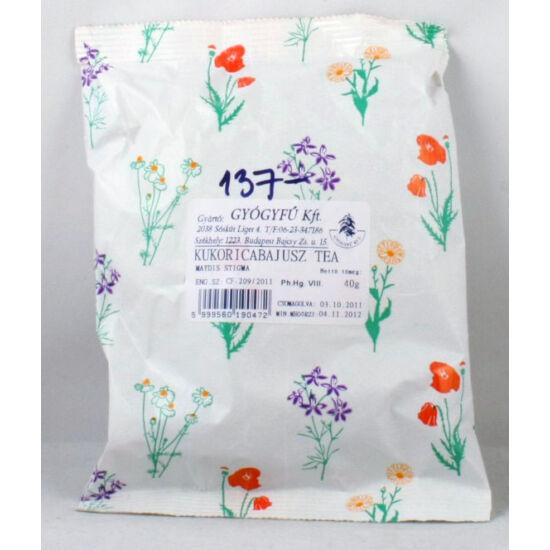 kukorica selyem tea fogyás