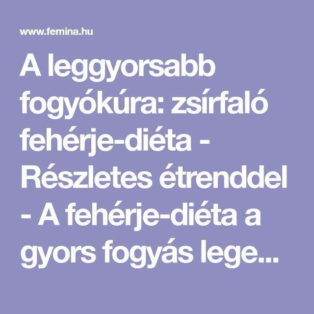 7 napi trükk a gyors és egészséges fogyásért! - vipvilaga.hu