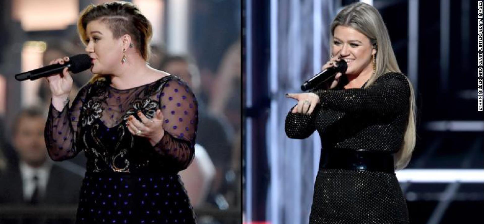 Elképesztő: 17 kilót fogyott Kelly Clarkson – fotók - Blikk